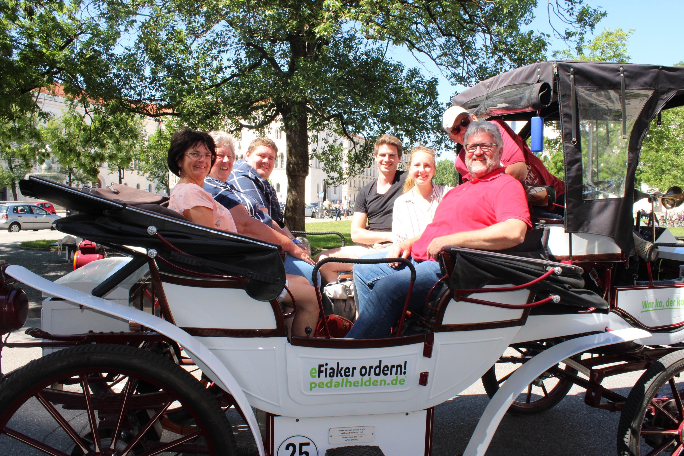 Stadtrundfahrt mit der e-Kutsche