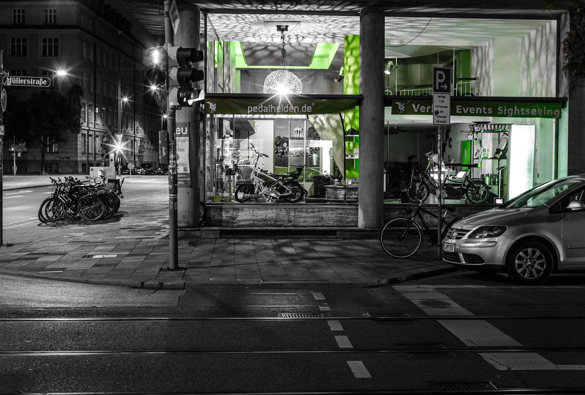 Pedalhelden auf NEUEM STERN: ab 11. Oktober in der MARSstraße 11