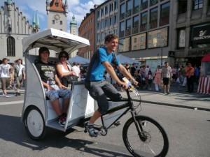 Rikscha von pedalhelden.de
