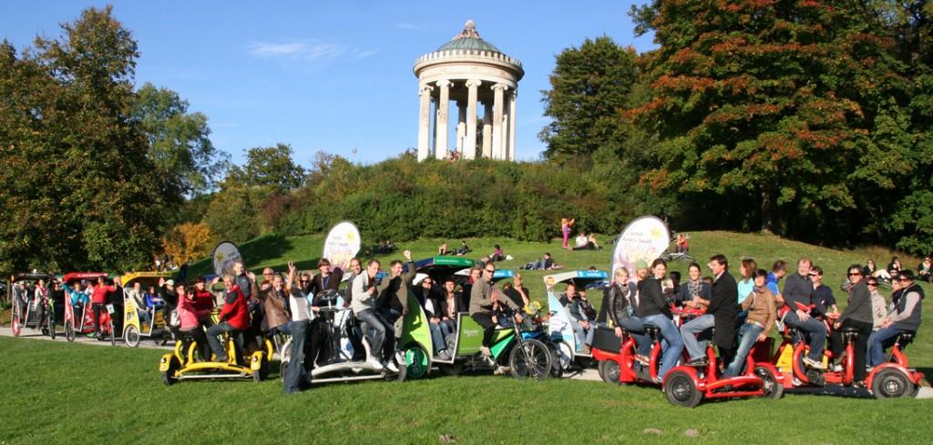 Rikschas und Conference Bikes der Pedalhelden