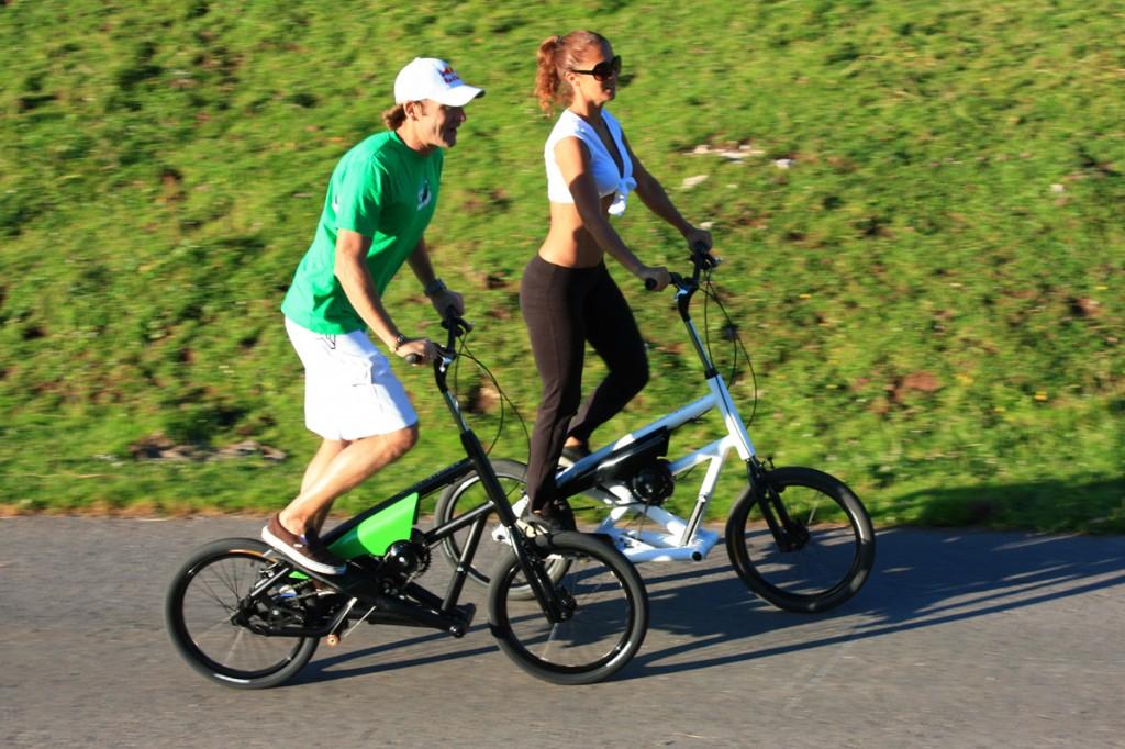 gemeinsamer Ausflug auf Streetsteppern der pedalhelden.de
