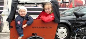 Familienausflug ins Grüne mit dem Babboe, 25 € für einen 4 Std. Verleih