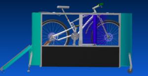 BikeWash, Fahrrad-Waschanlage