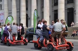 Conferencebikes in münchen