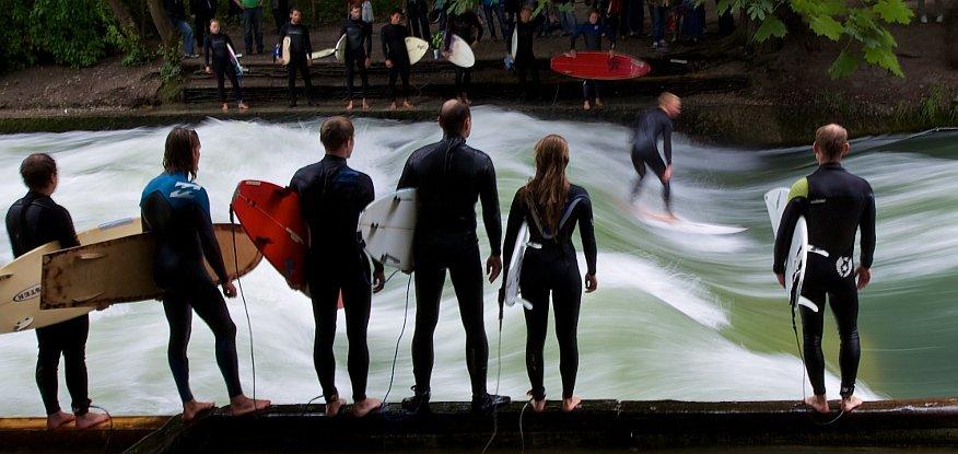 Surfspot Englischer Garten