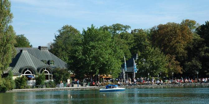 Seehaus am Kleinhesseloher See