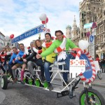 Das TENdem, 10er-Tandem der Pedalhelden