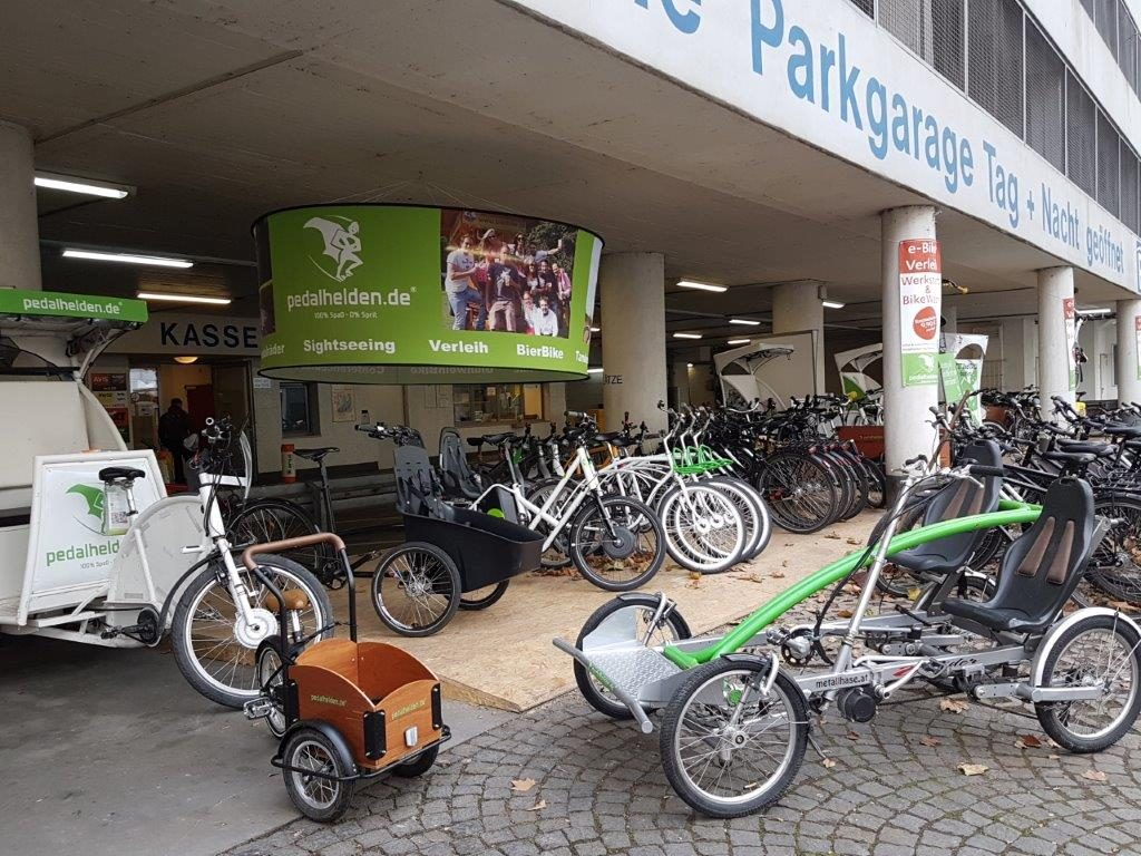 BikeWash bei den Pedalhelden