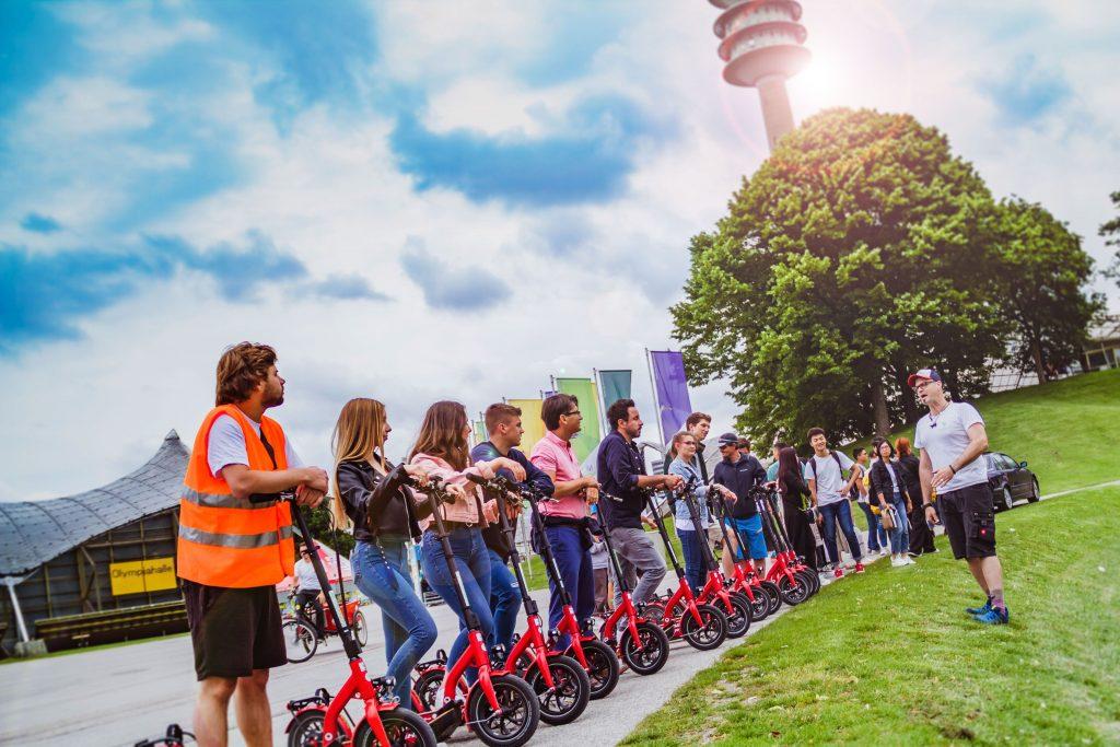 escooter tour münchen
